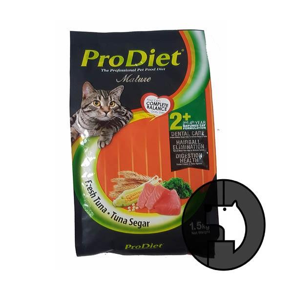 Foto Produk pro diet 500 gr cat fresh tuna dari F.J. Pet Shop