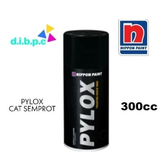 Foto Produk 300cc 1756 Industrial Grey Metallic Pylox Cat Semprot NIPPON PAINT dari DIBPC