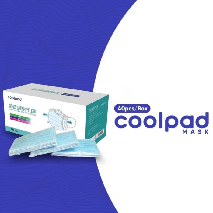 Foto Produk Coolpad Masker 3 ply , Surgical Mask , Harga Per box dari Triv Distribusi