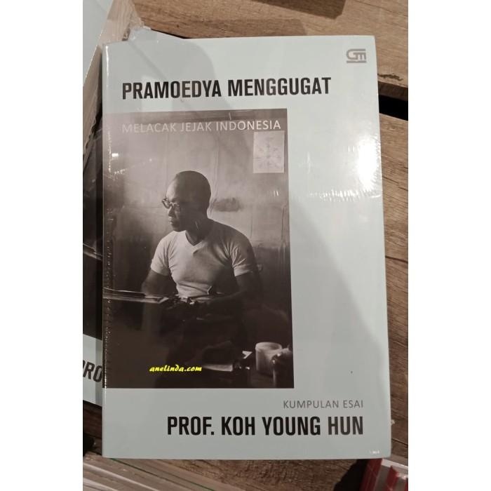 Foto Produk PRAMOEDYA MENGGUGAT - MELACAK JEJAK INDONESIA (KUMPULAN ESAI) dari Anelinda Buku Klasik