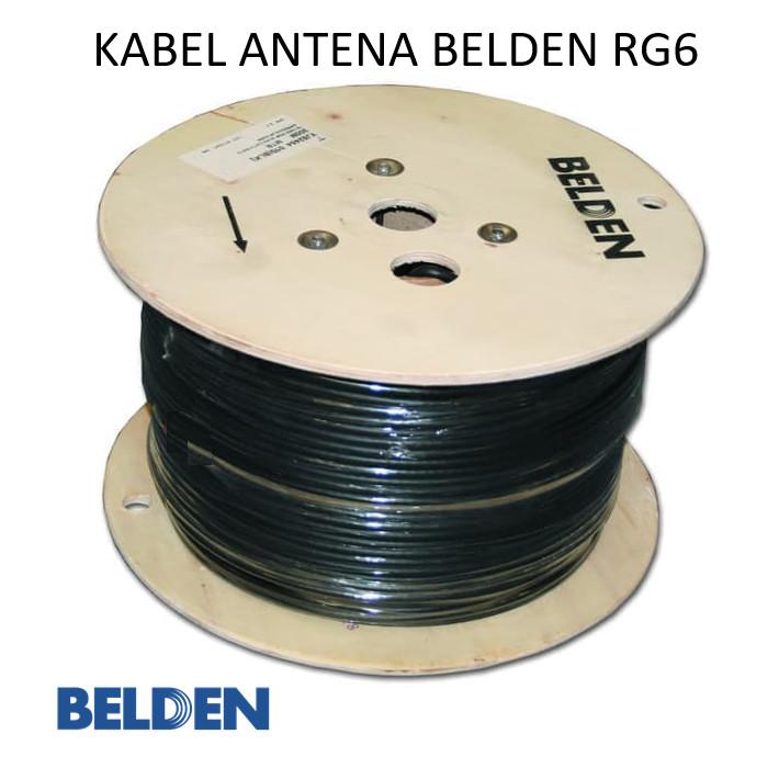 Foto Produk Kabel antena belden atau kabel tv belden RG6 per meter dari sinar sakti gading
