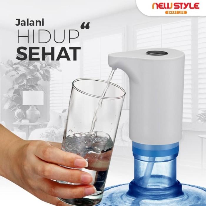 Jual New!Pompa Galon B08 Air Minum Elektrik Otomatis Water ...