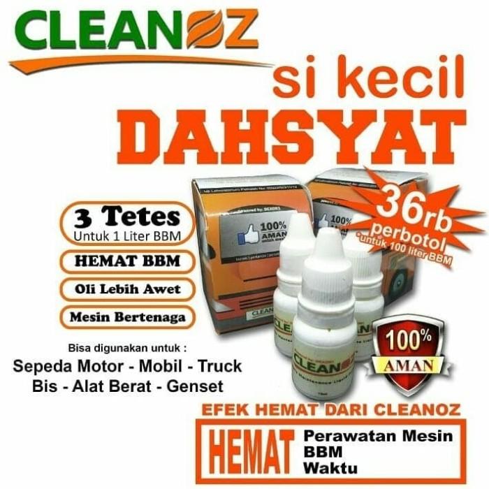 Foto Produk CLEANOZ Penghemat BBM Bensin,Solar,Pertamax,Pertalite Pembersih Mesin dari Istiqomah-Store