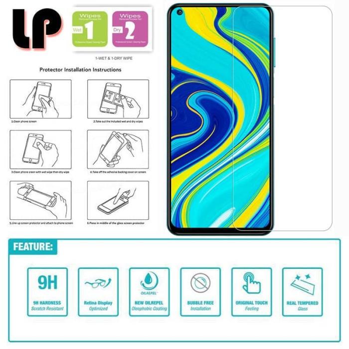 Foto Produk LP HD Tempered Glass Xiaomi RedMi Note 9 - Kaca Original Bening Clear dari Logay Accessories