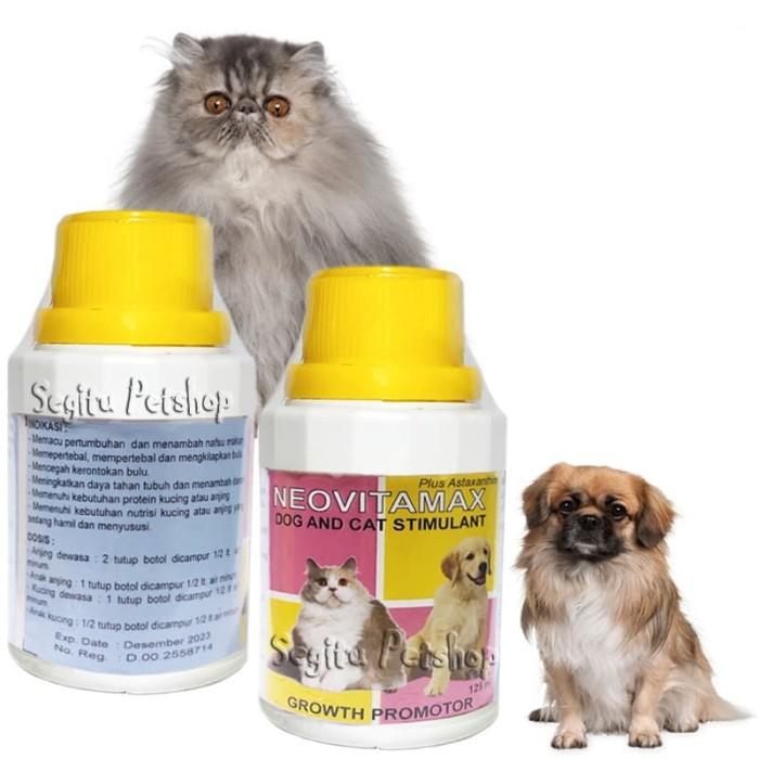 Jual Vitamin Komplit Anak Kucing Anjing Penambah Nafsu Makan Neovitamax Kab Tangerang Segitu Petshop Tokopedia