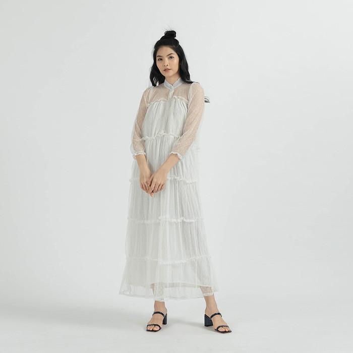 Foto Produk YuanmarketXMelody - The Bay Dress White - S dari Yuan Market
