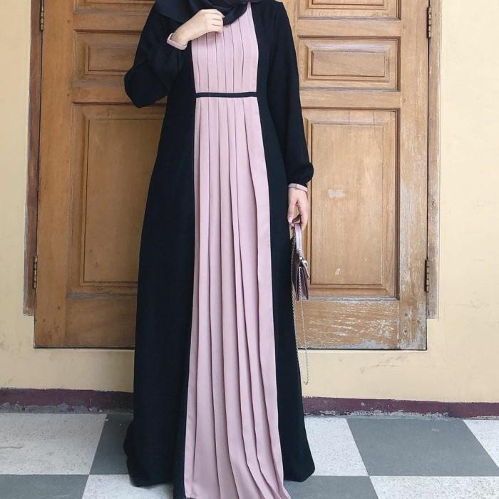 Jual Baju Muslim Wanita Dress Wanita Muslimah Jakarta Pusat Qanshopp 14 Tokopedia
