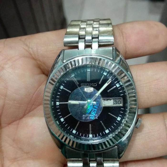 Foto Produk jam tangan pria seiko 5 otomatis bezel rigi siap pakai dari NUSAELNUSA