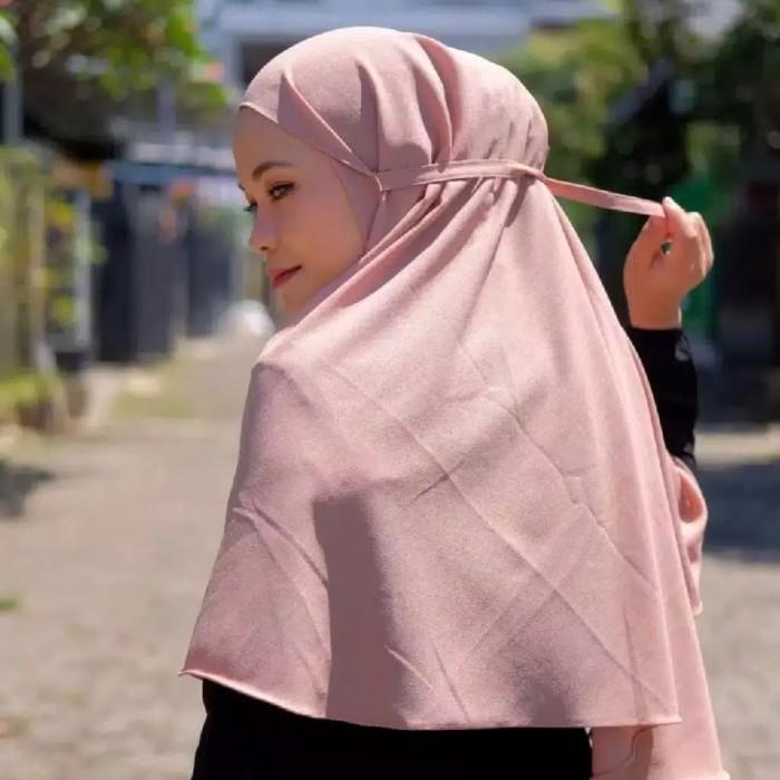 Foto Produk Hijab Bergo Maryam Khimar Instan kerudung tali TERLARIS dari elfazza_storefashion