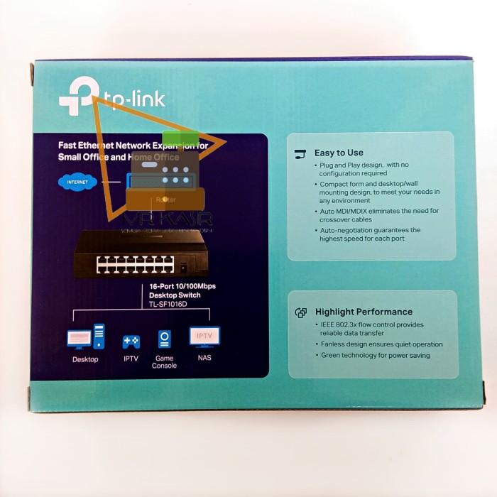 Jual Tp Link Tl Sf1016d Tlsf1016d 16 Port 10 100mbps Desktop Switch Hub Kota Bandung Mr Kasir Tokopedia