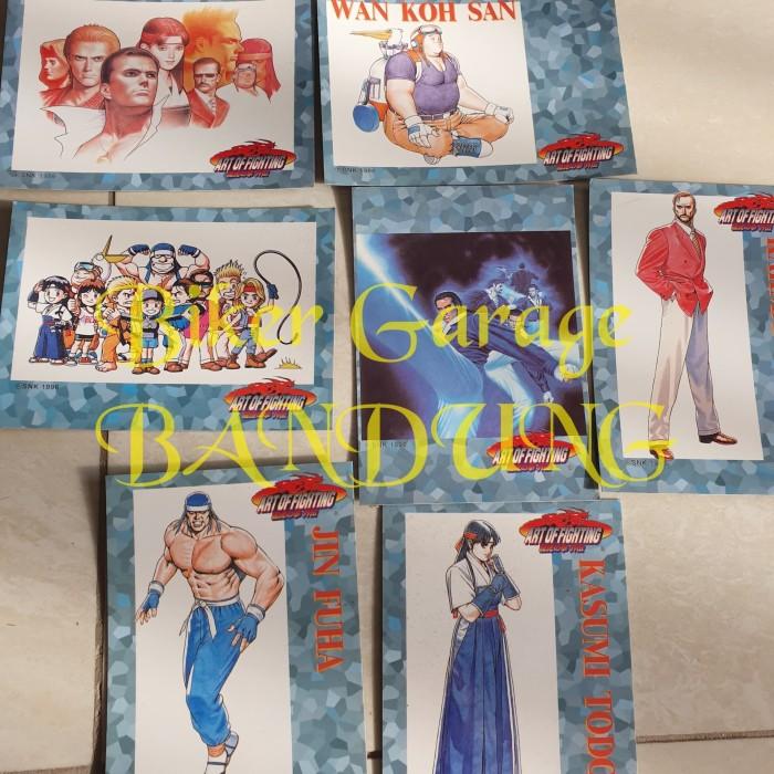 Jual Kartu Card Art Of Fighting Game Retro Vintage Snk Kota Bandung Bikergarage Tokopedia
