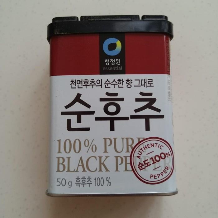 Jual Daesang Black Pepper Powder Merica Bubuk Korea Kab Tangerang Betty S House Tokopedia