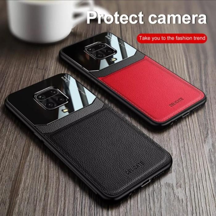 Foto Produk Xiaomi Redmi Note 9 PRO ORIGINAL SUND Leather Hard Soft Casing Kulit dari Dunia Acesories phone