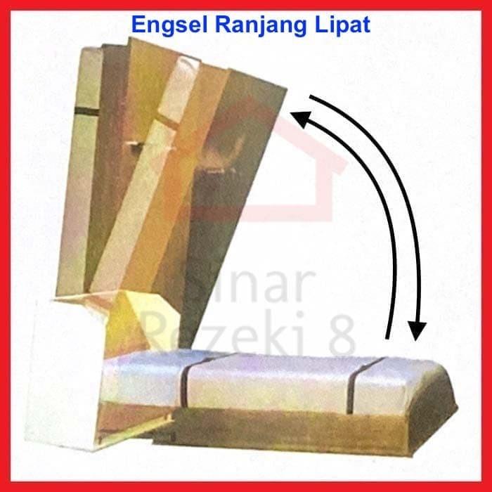 Jual Engsel Ranjang Tempat Tidur Lipat Dinding Rak Bed Save 339 1 Kota Tangerang Selatan Sinar Rezeki 8 Tokopedia
