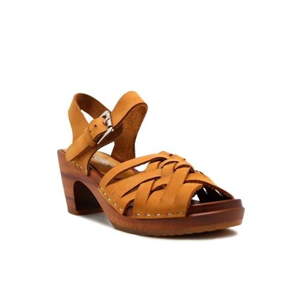 Foto Produk CLOGS Paula (Non Insole) - Light Brown 7cm dari Natana Shoes