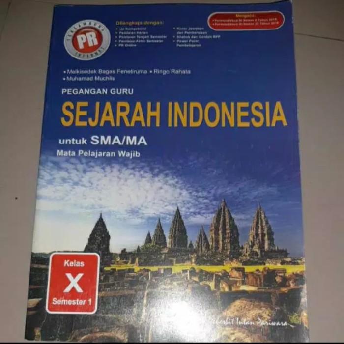 Jual Buku Kunci Jawaban Pr Sejarah Indonesia Kelas 10 Semester 1 Kota Surabaya Happy Shope Toped Tokopedia