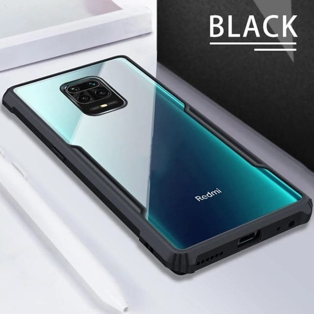 Jual Xiaomi Redmi Note 9 Note 9 Pro Soft Case Clear Armor Shockproof Redmi Note 9 Hitam Jakarta Pusat Urban Story Tokopedia