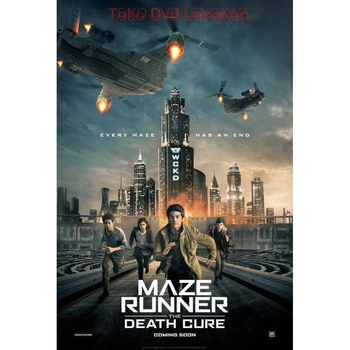 Jual Film Dvd Maze Runner The Death Cure 2018 Kota Bandung Filmku Tokopedia