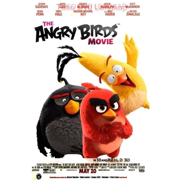 Jual The Angry Birds Movie 2016 Kota Bandung Filmku Tokopedia