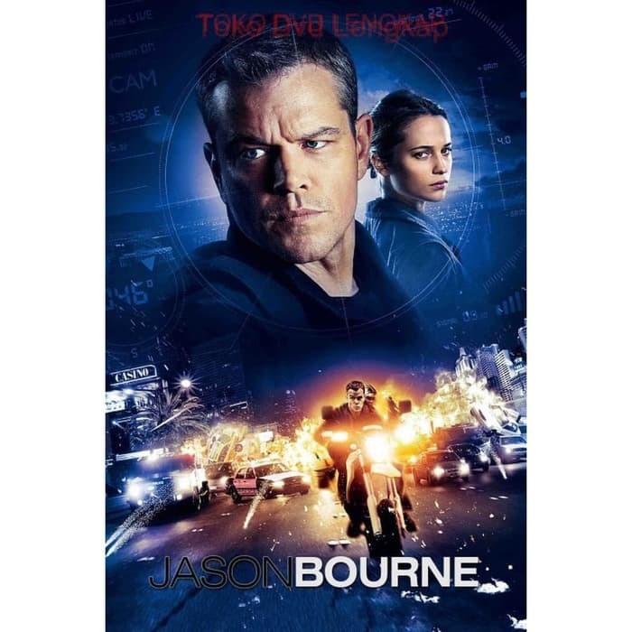 Jual Film Dvd Jason Bourne 2016 Kota Bandung Filmku Tokopedia