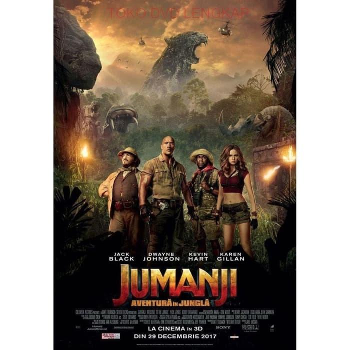 Jual Film Movie Barat Jumanji Welcome To The Jungle 2017 Kota Bandung Filmku Tokopedia