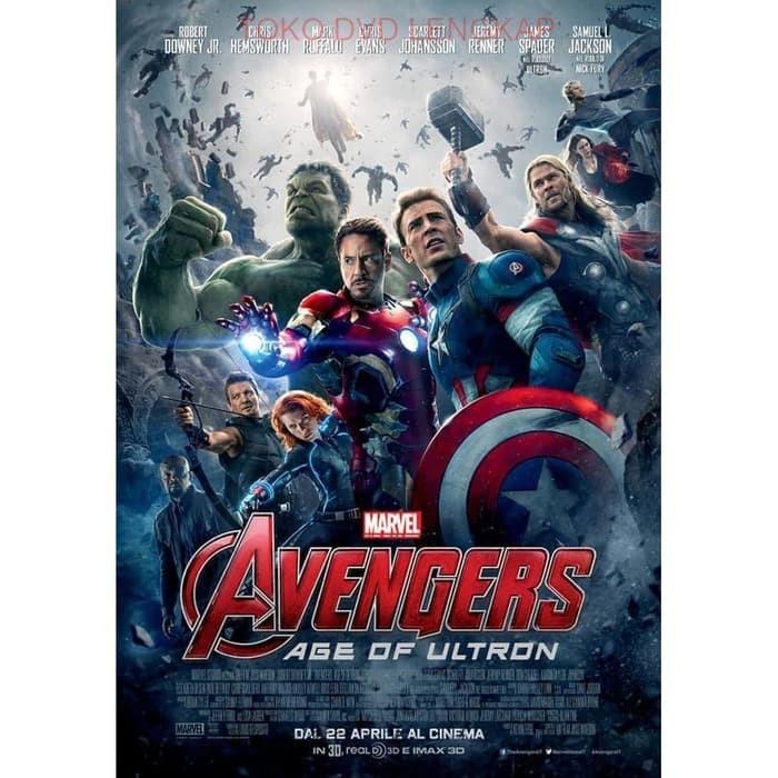 Jual Film Barat Jadul Avengers Age Of Ultron 2015 Kota Bandung Filmku Tokopedia