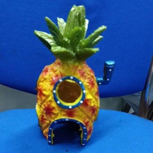 Jual Hiasan Aquarium Rumah Nanas Spongebob Besar Fiber Kode 2376 Jakarta Barat Silviamarkett Tokopedia