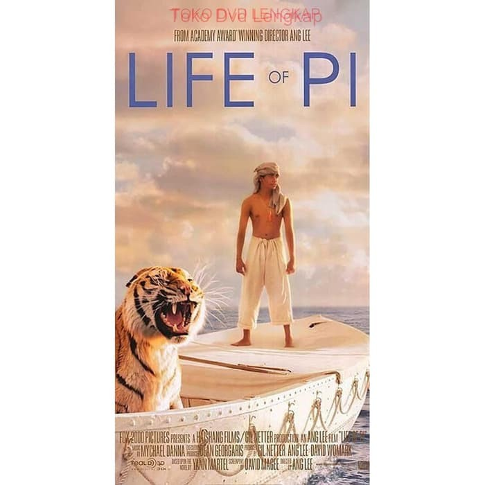 Jual Film Dvd Life Of Pi 2012 Kota Bandung Filmku Tokopedia