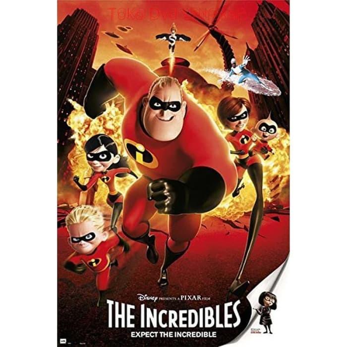Jual Film Dvd The Incredibles 2004 Kota Bandung Filmku Tokopedia
