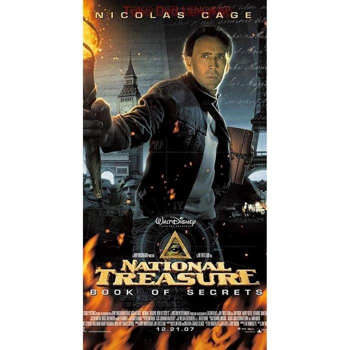 Jual Film Dvd National Treasure Book Of Secrets 2007 Kota Bandung Filmku Tokopedia