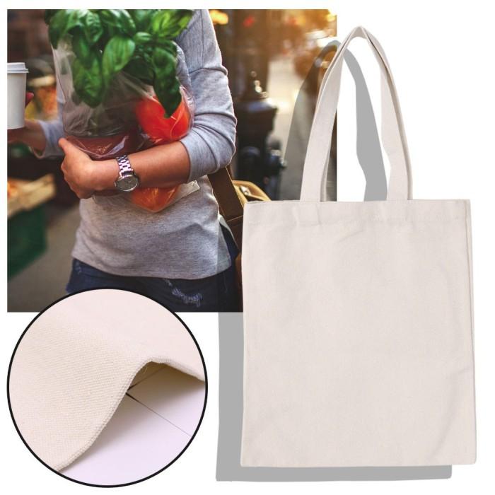 Jual Personalized Handbags Canvas Tote Bags Reusable Shopping Bag Jakarta Selatan Favorite Toko Tokopedia