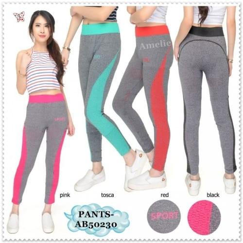 Jual Ab50230 Celana Legging Olahraga Wanita Celana Senam Yoga Zumba Import Jakarta Pusat Gevelinger Tokopedia