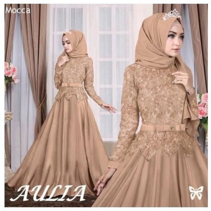 Jual Baju Muslim Wanita Gamis Syari Baju Gamis Brokat Kombinasi Model Kota Bandung Hercules2020 Tokopedia