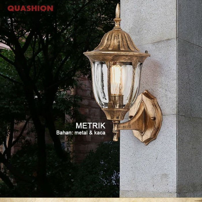 Jual Terlari Lampu Dinding Outdoor Minimalis Lampu Tempel Lampu Taman Jakarta Selatan Elektrosmile Tokopedia