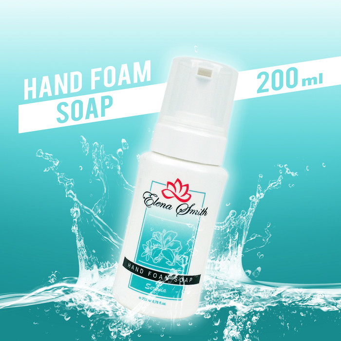 Foto Produk Hand Foam Elena Smith Sabun Cuci Tangan Antiseptic 200 ml dari Helm Cargloss