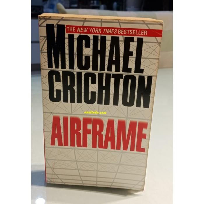Foto Produk AIRFRAME - MICHAEL CRICHTON dari Anelinda Buku Klasik