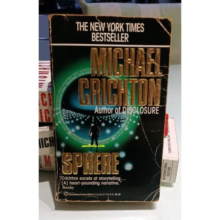 Foto Produk SPHERE - MICHAEL CRICHTON dari Anelinda Buku Klasik