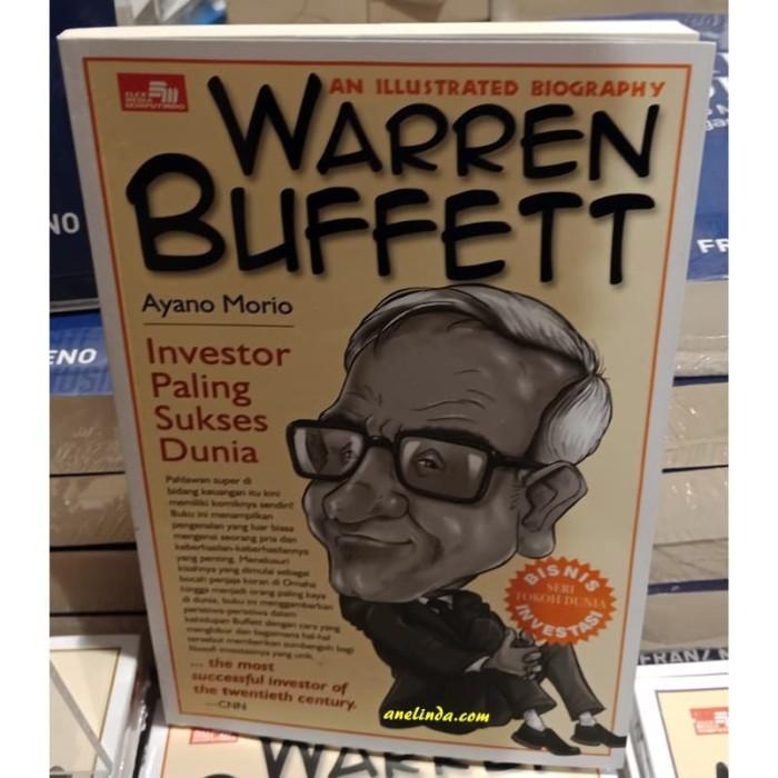 Foto Produk WARREN BUFFETT - INVESTOR PALING SUKSES DUNIA dari Anelinda Buku Klasik