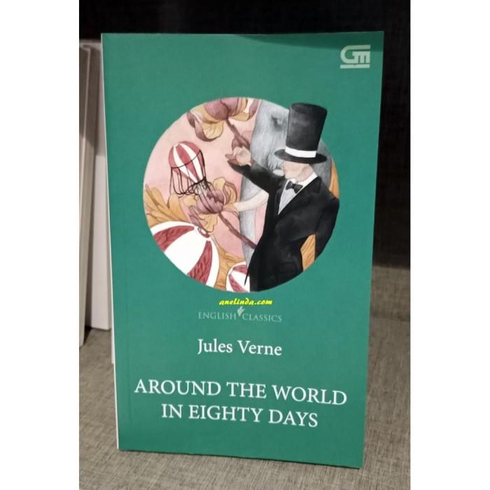 Foto Produk AROUND THE WORLD IN EIGHTY DAYS - ENGLISH CLASSICS dari Anelinda Buku Klasik