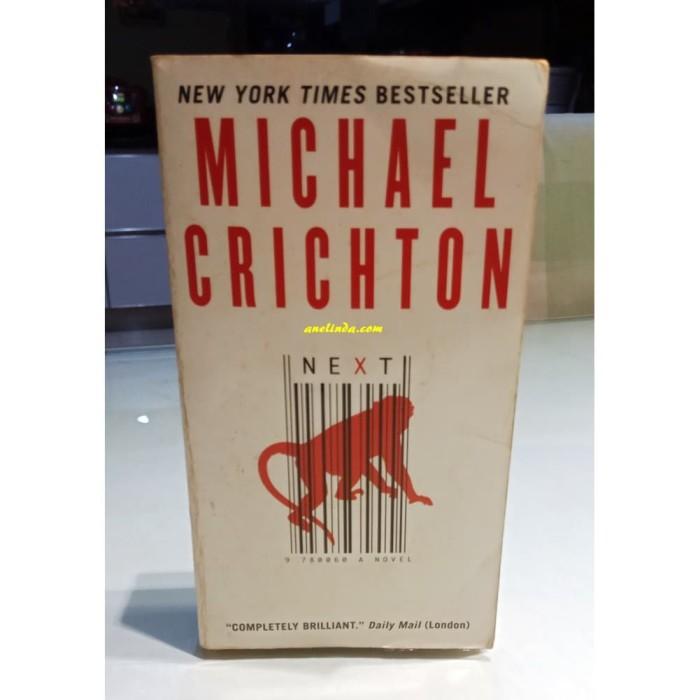 Foto Produk NEXT - MICHAEL CRICHTON dari Anelinda Buku Klasik