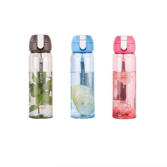 Foto Produk Lock n Lock Botol Air Minum Water Bottle 550 ml HLC 968 HLC968 - Biru dari CarissaChayra