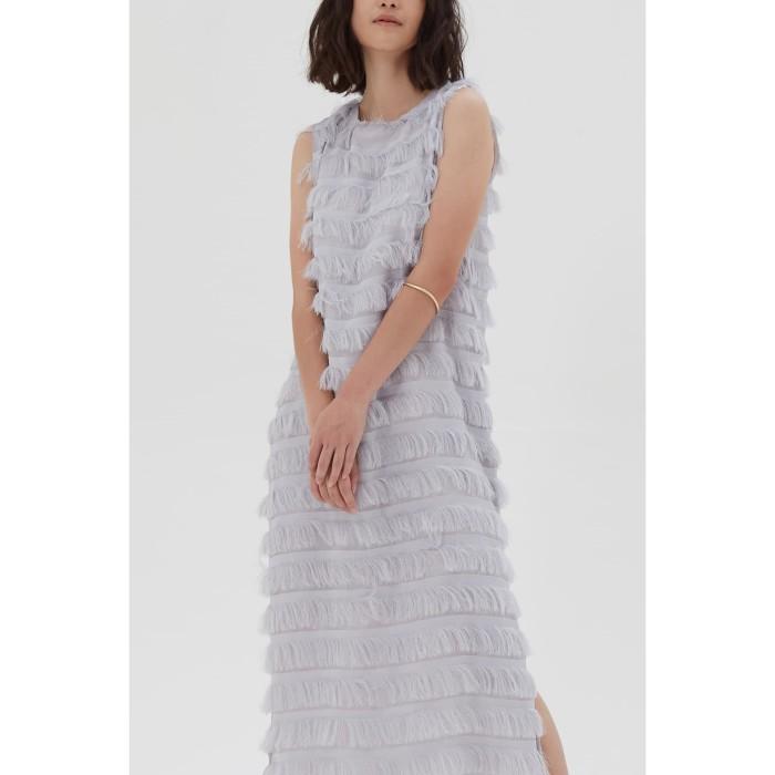 Foto Produk Shopatvelvet - Pompidou Dress Grey dari shopatvelvet