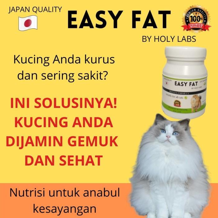 Jual Easy Fat Vitamin Kucing Terbaik Dari Jepang Obat Kucing Kurus Jakarta Selatan Bintangarcah88 Tokopedia