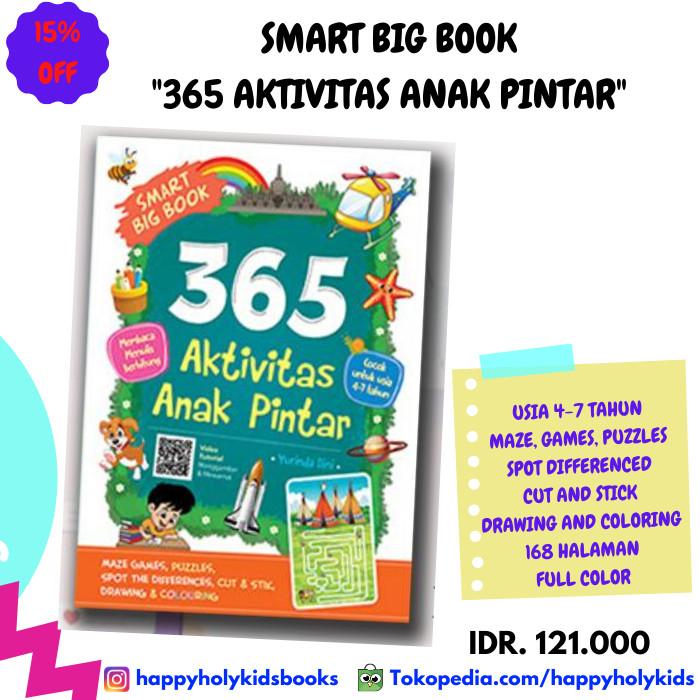 Jual BUKU ANAK-SMART BIG BOOK 365 AKTIVITAS ANAK PINTAR