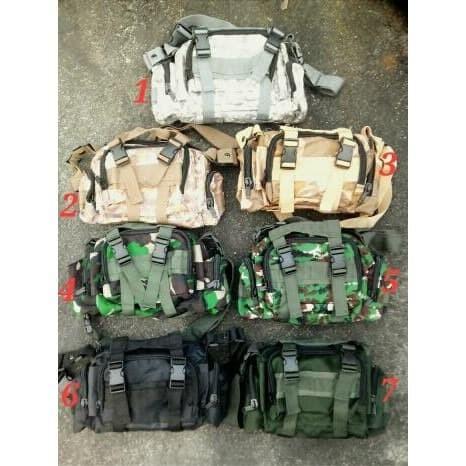 Foto Produk Tictac Tas Selempang / Tas Loreng / Tactical / Army / TNI / Polisi / dari Tictac Military