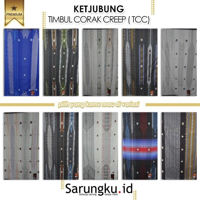 Foto Produk SARUNG KETJUBUNG CLASSIC TIMBUL CORAK CREEP (TCC) dari SarungkuID