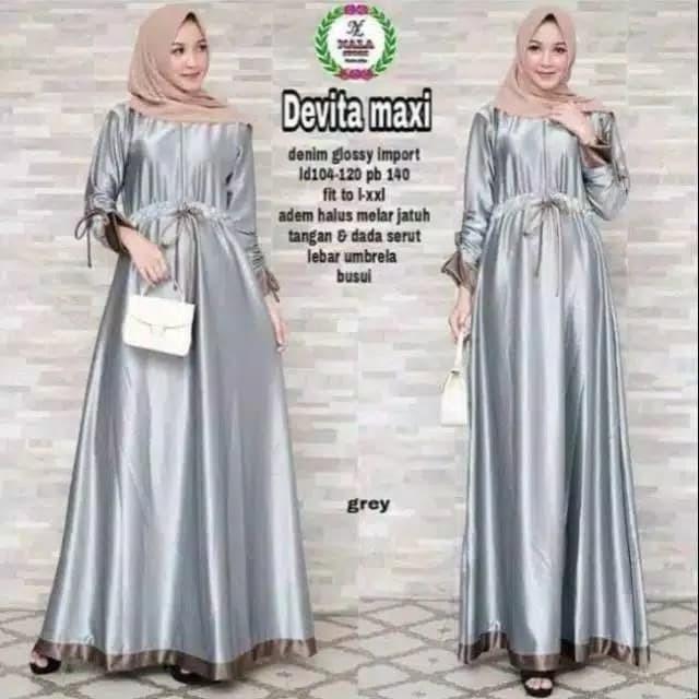 Foto Produk Devita Maxi | Baju Gamis | Pakaian Muslim | Baju Murah | Gamis Murah | dari zam collection