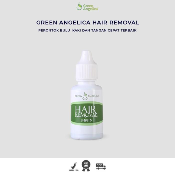 Foto Produk Obat Menghilangkan Bulu Kaki Dan Tangan Green Angelica Hair Removal dari Seles Green Angelica sby