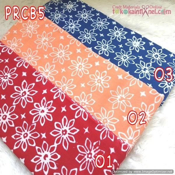 Foto Produk Prcb5 Perca Batik Cap Bahan Katun Uk 50X50Cm dari Toko Kain Flanel dot com