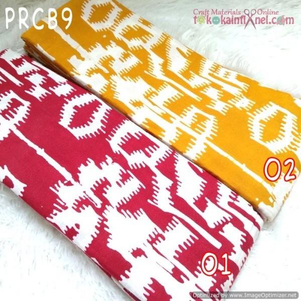 Foto Produk Prcb9 Perca Batik Cap Bahan Katun Uk 50X50Cm - kunyit-kunyit dari Toko Kain Flanel dot com